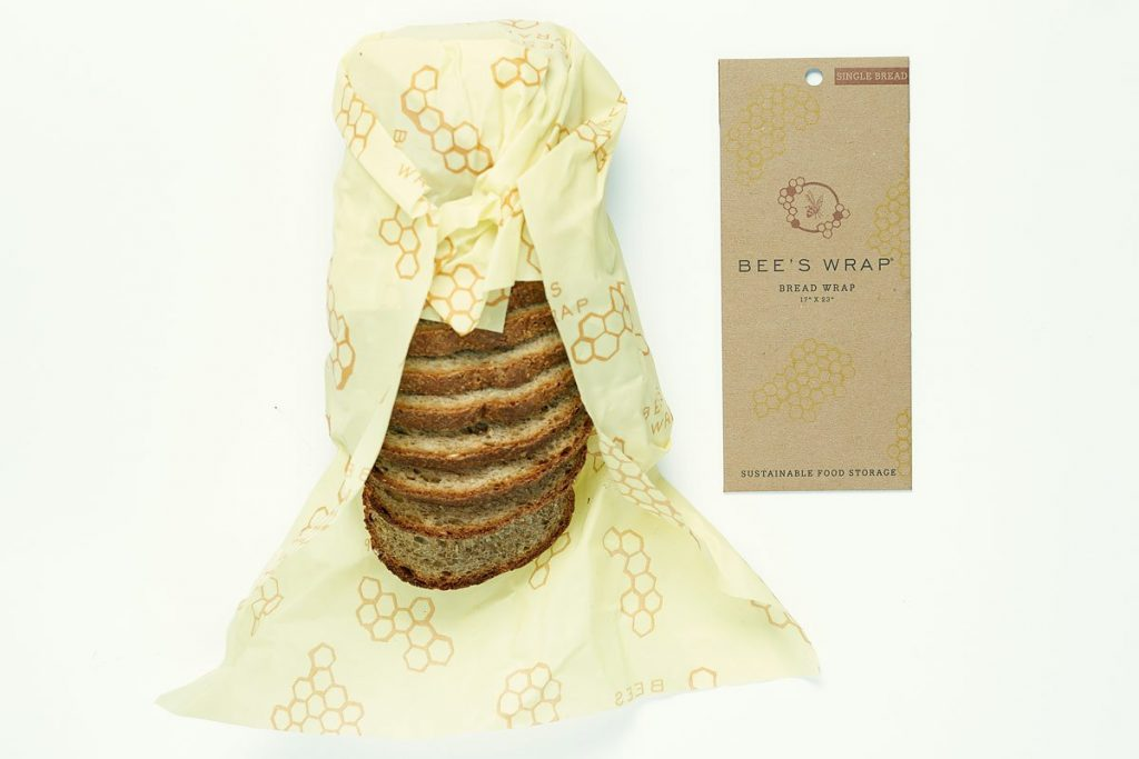 Made in USA gifts for the baker: Reusable Wrap - Bee's Wrap Bread Wrap - Perfect Gift for Foodie or Baker