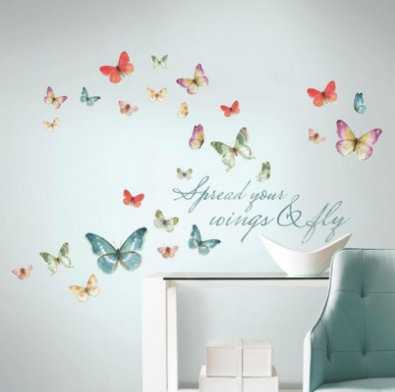 Home Decor Gifts: RoomMates wall decals