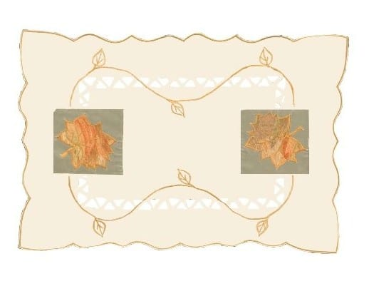 The Perfect Thanksgiving Table: Heritage Lace placemats #usalvoelisted #madinUSA #Thanksgiving