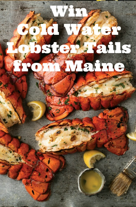 Win Cold Water Lobster Tails from Maine