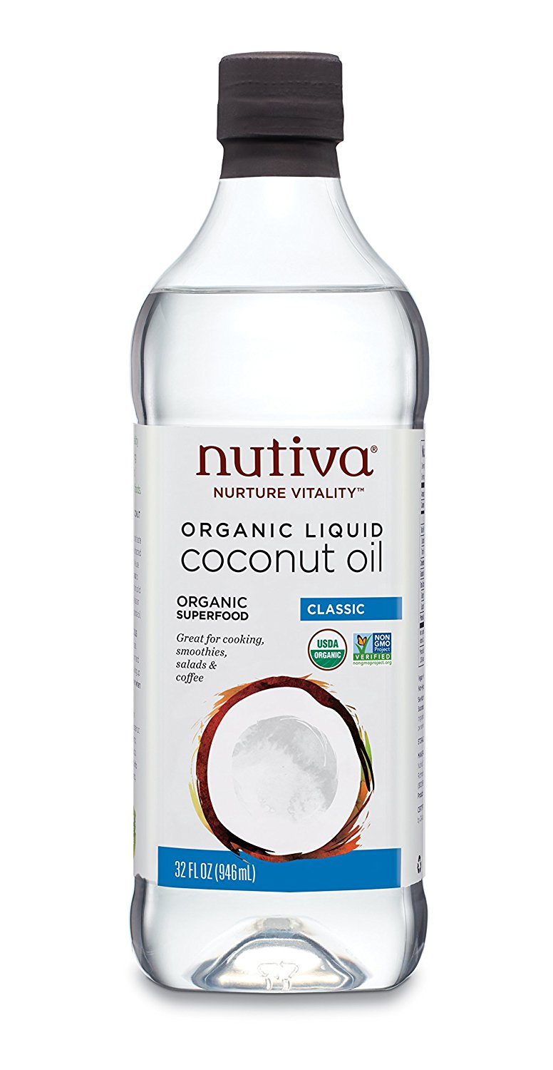 American Made Paleo Foods and Gifts - Nutiva Organic Liquid Coconut Oil #whole30 #usalovelisted