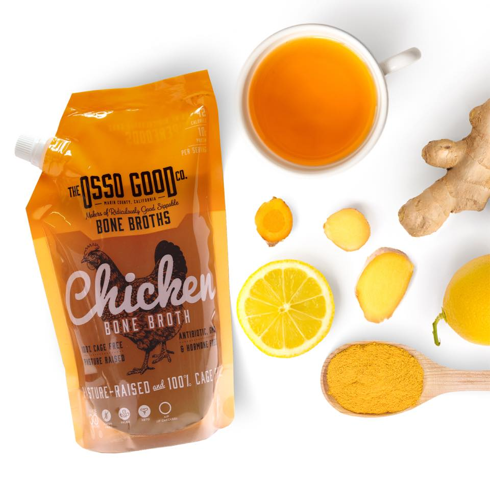 Whole30 Approved Osso Good Chicken Bone Broth - Made with Pasture Raised Chickens #usalovelisted #paleo #whole30