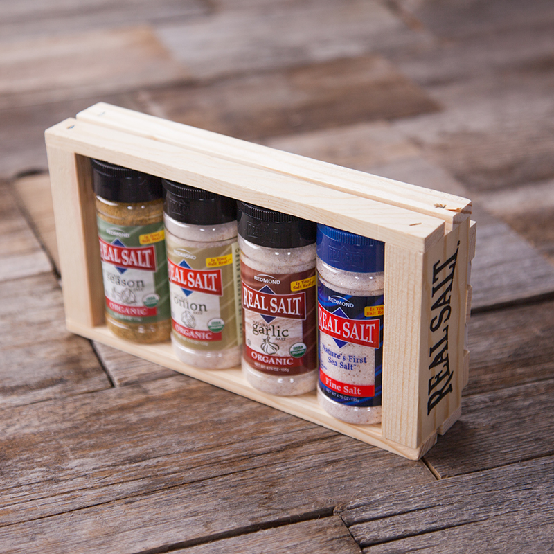 American Made Paleo Gifts - Real Salt Organic Seasoning Gift Box