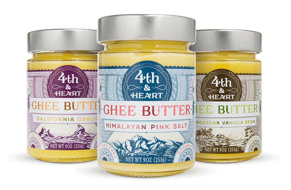 American Paleo Gifts - 4th and Heart Grass-Fed and Dairy Free Ghee