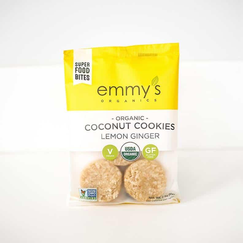 Emmy's Organics - Vegan Paleo Gluten Free Organic Coconut Cookies