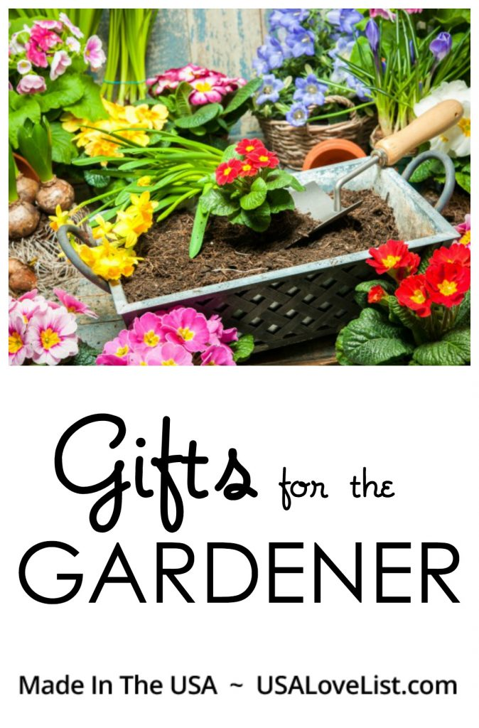 GIFTS FOR THE GARDENER MADE IN THE USA
