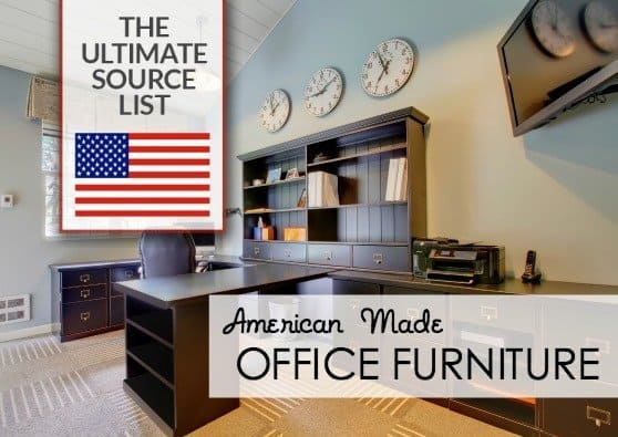 American Made Office Furniture - USAlovelist.com