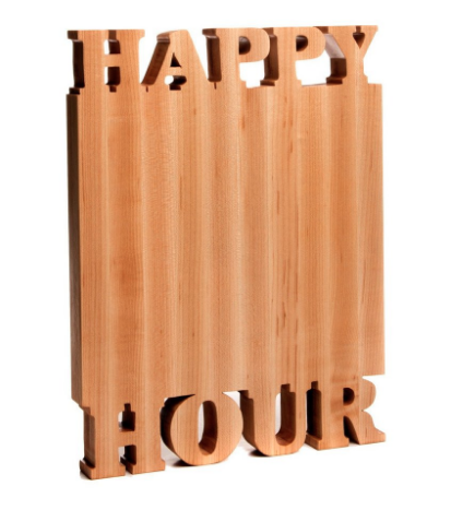 Hostess Gifts: Words with Boards cutting boards