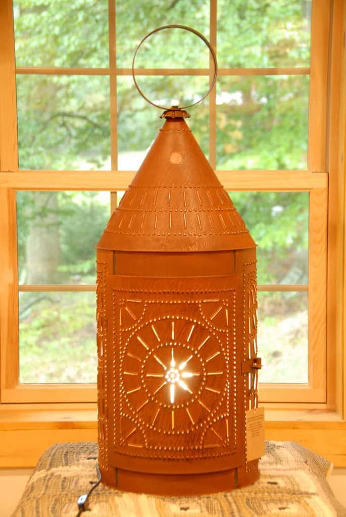American made lighting; TreasuredCountryGifts.com #usalovelisted #rustic #lighting