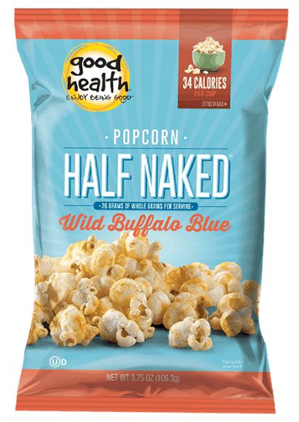 Good Health Popcorn Half Naked Wild Buffalo Blue #usalovelisted #popcorn #snacktime
