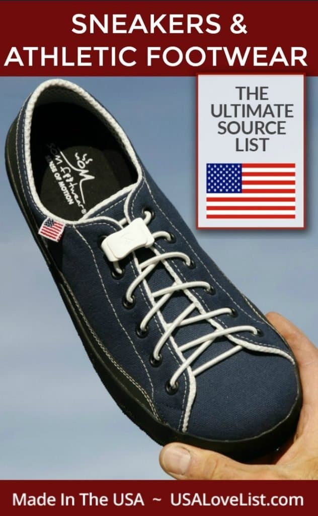 Made in USA Sneakers and Athletic Footwear
