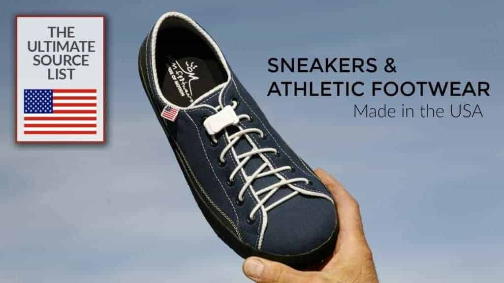 Father's Day Gift Ideas: Made in USA Sneakers and Athletic Footwear #usalovelisted