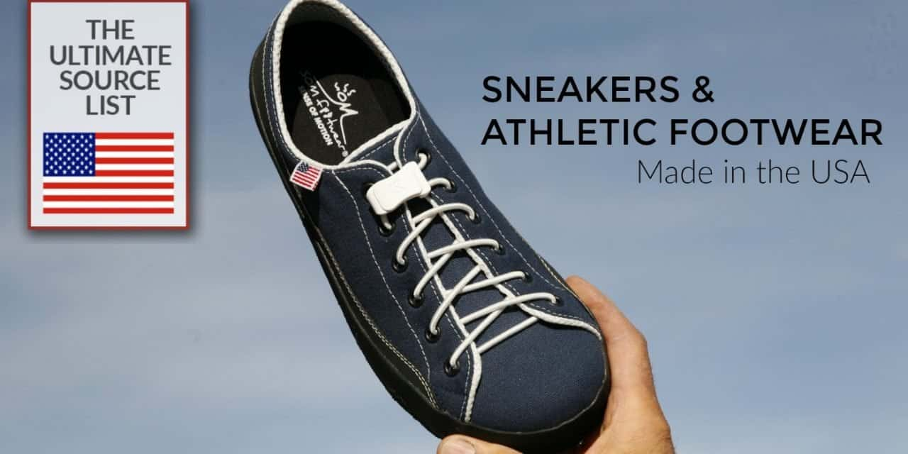 meet db92a 2c4c7 Made in USA Sneakers   Athletic Footwear  The Ultimate Source List
