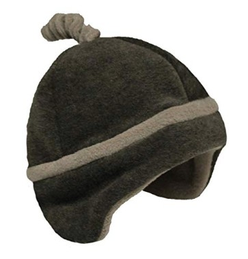 American made cold weather gear: Kowalli fleece hats and booties for babies and toddlers #usalovelisted #madeinUSA #babygear #winter