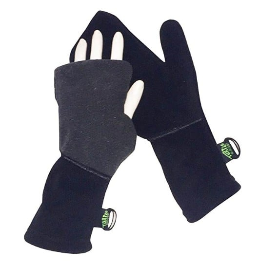 American made cold weather gear: Turtle Gloves convertible mittens #usalovelisted #madeinUSA #winter