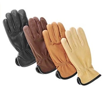 American made cold weather gear: Geier Glove lined leather winter work gloves #winter #usalovelisted