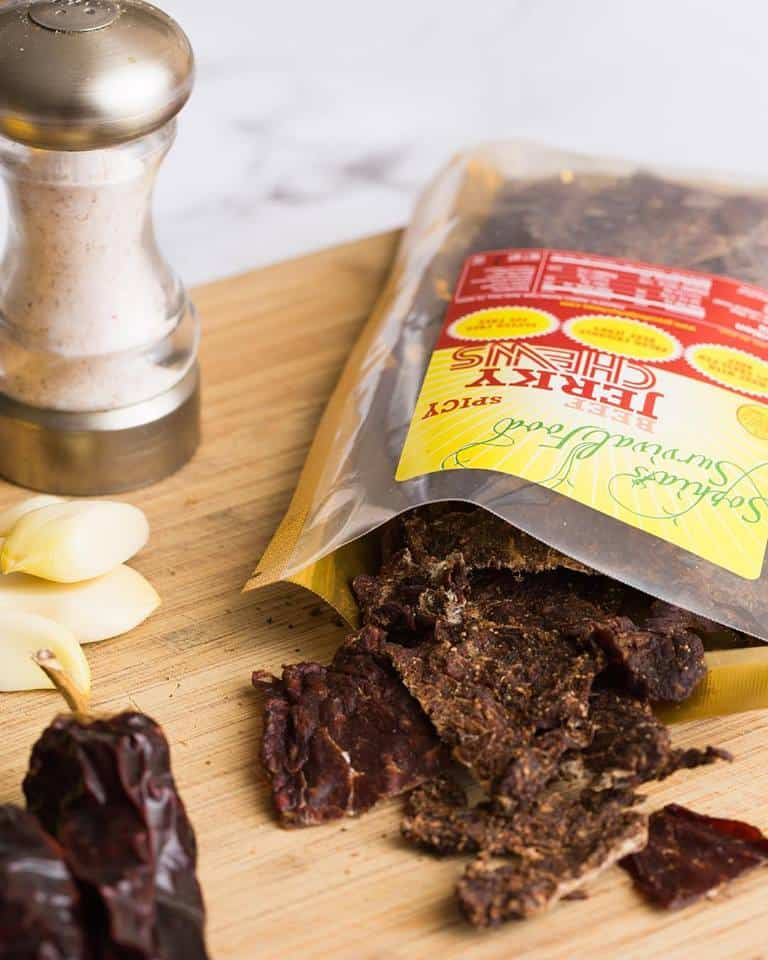 Sohpia's Survival Jerky - Keto, Paleo and Whole30 Approved - Sugar, Soy, Dairy and Preservative Free Beef Jerky