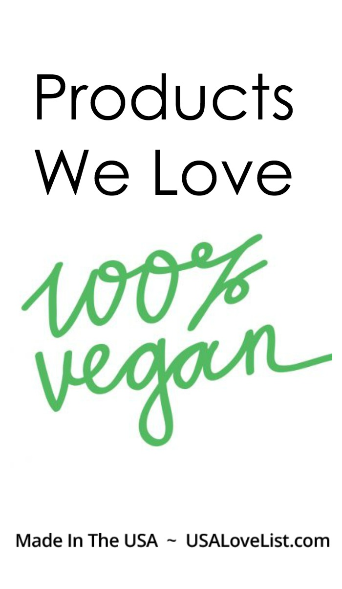Vegan Products made in the USA