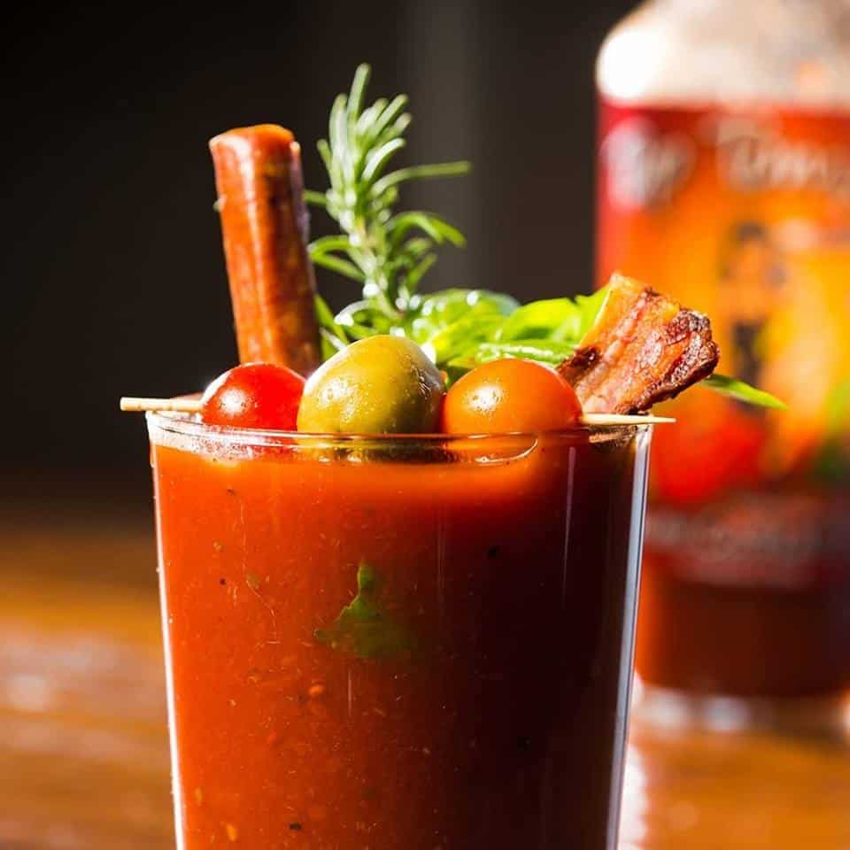 Gluten Free Foods: Bloody Mary Mix from Circle B Ranch - Made in USA - No MSG, preservatives or High Fructose Corn Syrup! #glutenfree #bloodymary