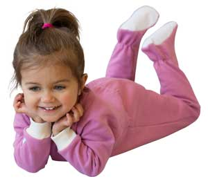 Made in USA Clothing for kids: Castleware Baby pajamas #usalovelisted #madeinUSA