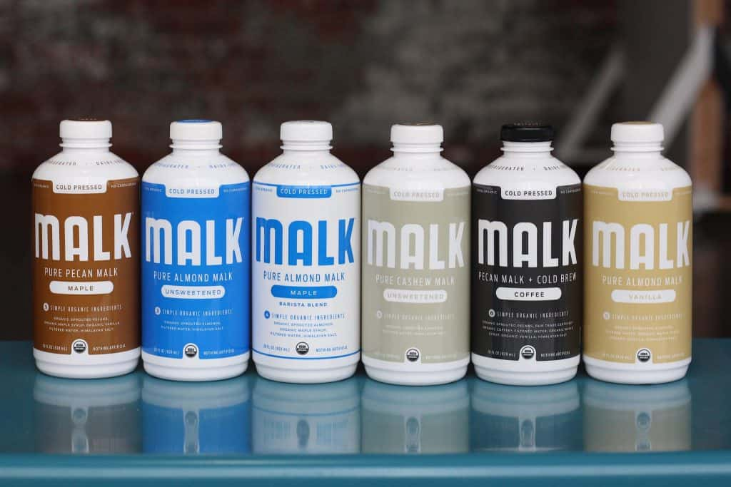Best Non dairy milk products - MALK Organics Pure Nut Milk #Soy #GlutenFree #DairyFree #Organic