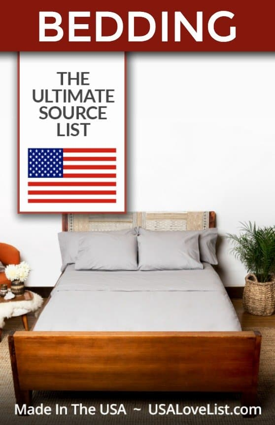 Buy Bedding Made In USA #usalovelisted #authenticity50 #madeinUSA #bedding