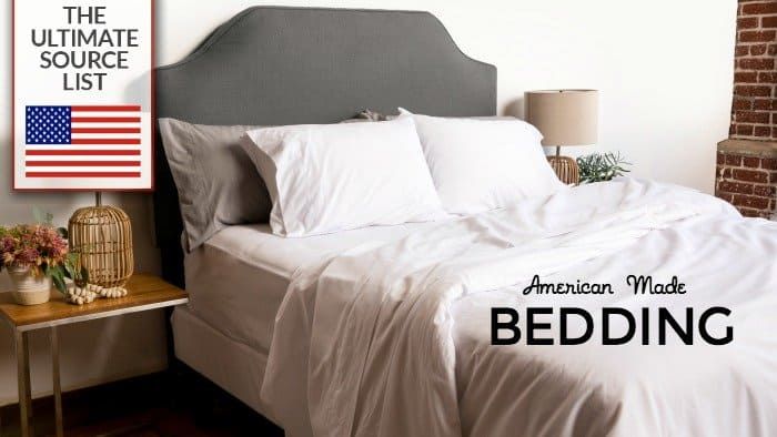 Captivating Buy Bedding Made In USA: The Ultimate Bedding Source List