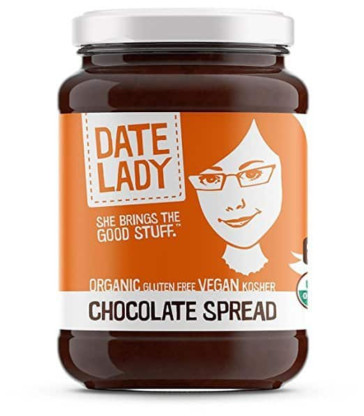 Vegan Nutella Alternatives: Date Lady Chocolate Spread #Vegan #Paleo #Dairyfree #Glutenfree #nutfree #usalovelisted