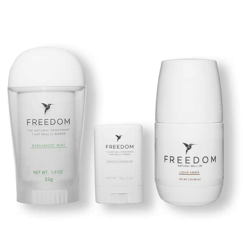 FREEDOM Non-Toxic, Natural, Organic, Cruelty Free Deodorant #usalovelisted #beauty