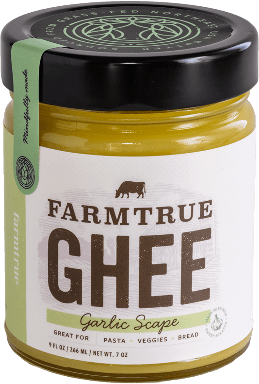 What is Ghee? And How to Find The Best Ghee Brands - Farmtrue Grass-Fed Garlic Scape Ghee