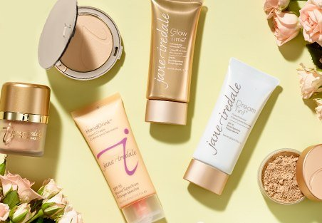 Cruelty free makeup brands: Jane Iredale Cruelty Free Skincare, Cosmetics and Makeup - USA Made Vegan Makeup Brushes too! #usalovelisted #beauty #crueltyfree #makeup