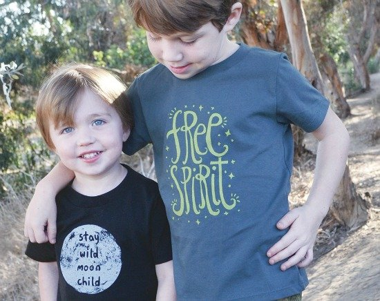 Made in USA Clothing for Kids: Soul Flower T shirts and onesies #organic #kidsclothing #usalovelisted