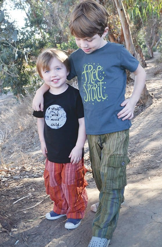 Made in USA clothing for kids: Soul Flower #usalovelisted