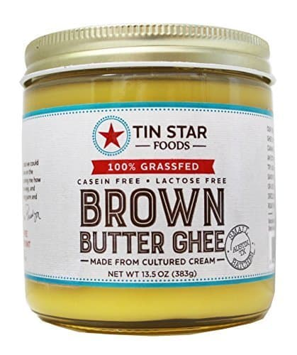 What is Ghee? And How to Find The Best Ghee Brands - Tin Star Foods Organic Grass Fed Brown Butter Ghee