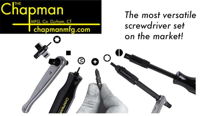 American Made Tools: Chapman Mfg: Interchangeable tools #usalovelisted #fathersday