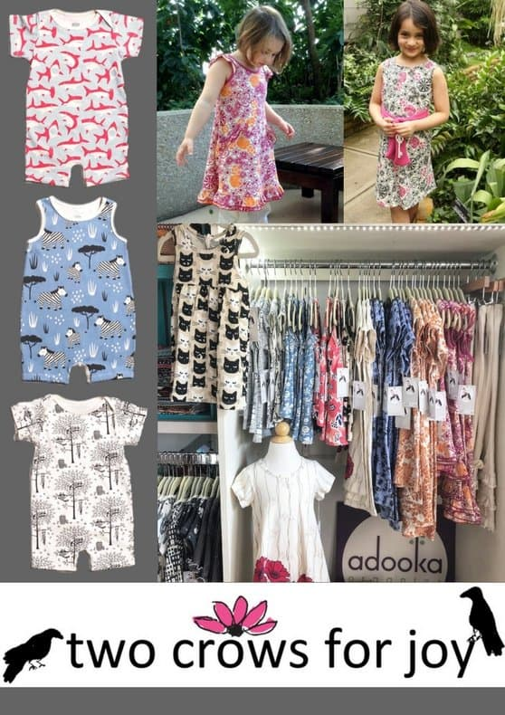 Made in USA clothing for kids: Two Crows for Joy #usalovelisted #kidsfashion