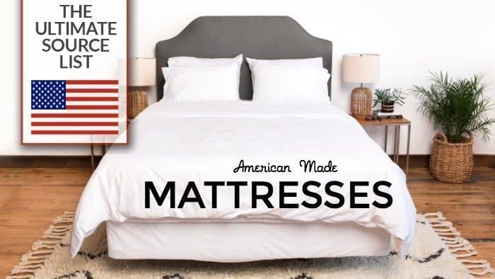 Ing A Mattress Made In Usa The Ultimate Source List