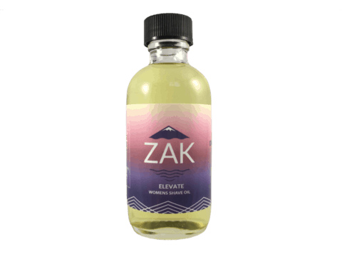 Cruelty Free Shave Oil - Replace Your Shave Gel With Non-Toxic Shave Oil From Zak Body