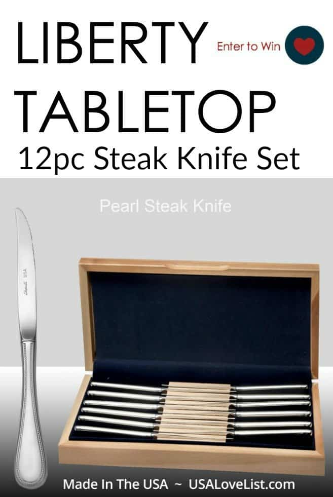 Liberty Tabletop Pearl Knife Set Giveaway: Perfect Father's Day Gift!!