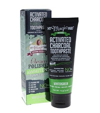 Natural toothpaste: My Magic Mud #usalovelsited