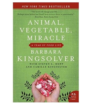 Spring Gardening Inspiration Reading List: Animal, Vegetable, Miracle #usalovelisted #garden #gardening #homesteading