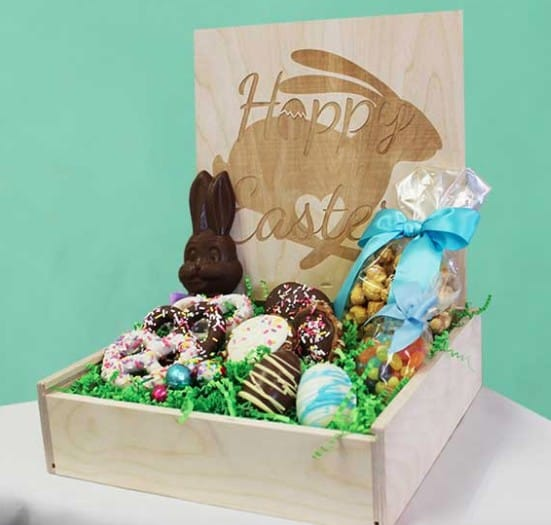 American made Easter candy: Savannah's Candy Kitchen Easter gift baskets #Easter #usalovelisted #candy