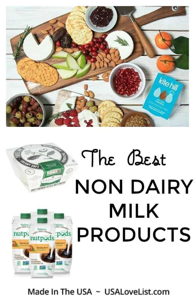 The Best Non Dairy Milk Products #usalovelisted #nondairy #dairyfree #vegan #glutenfree