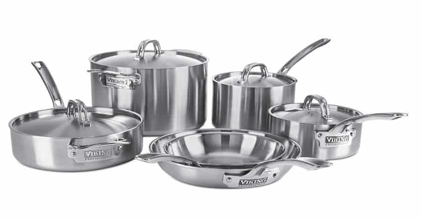 Best Cookware: made in USA pans by Viking #usalovelisted