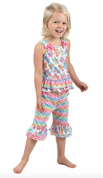 Made in USA Clothing for Kids: Laura Dara pajamas #usalovelisted