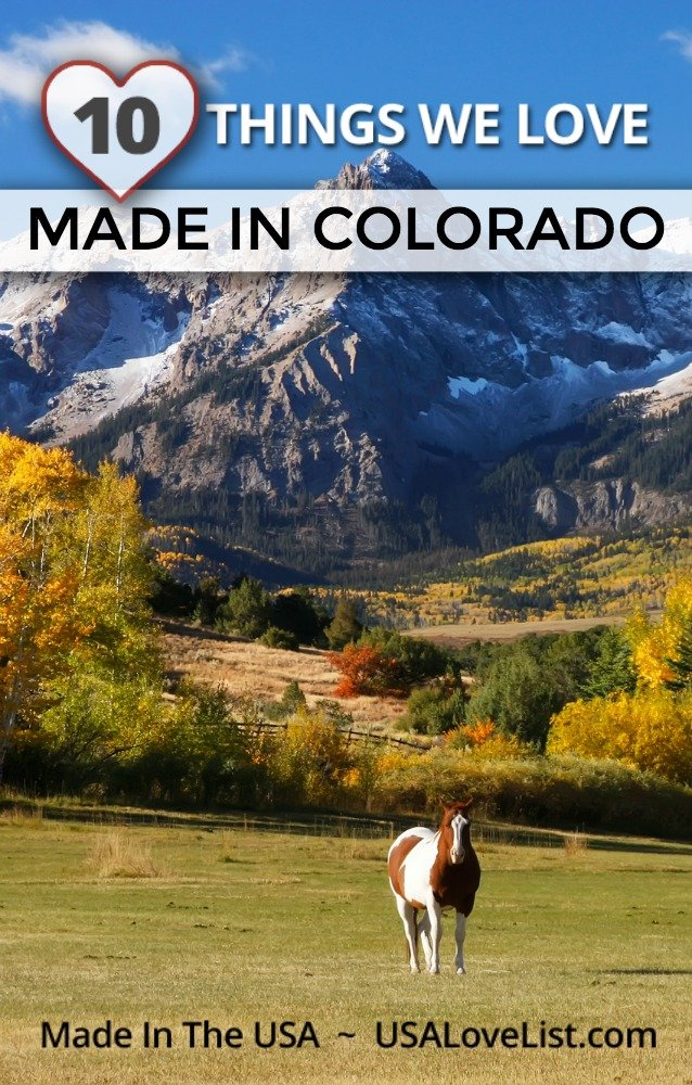 Things we love, Made in Colorado #madeinColorado #usalovelisted