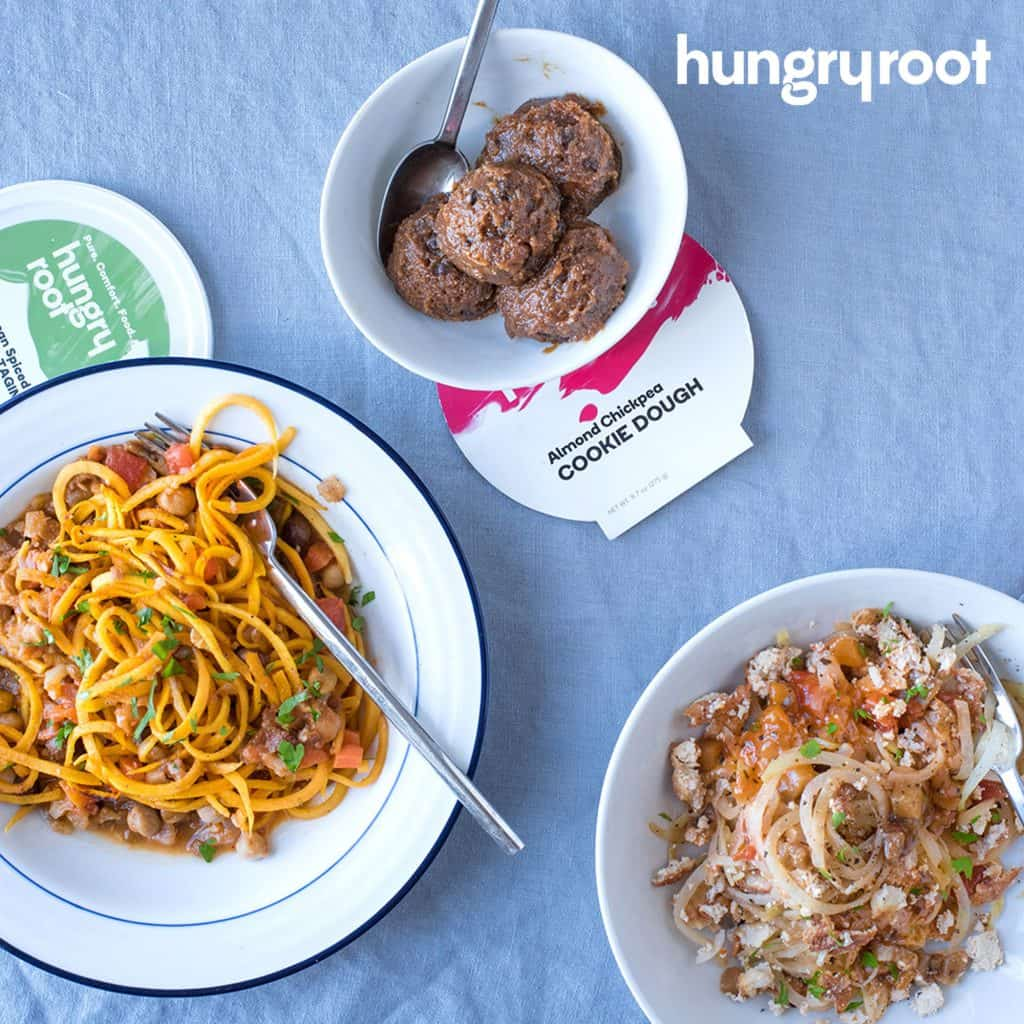 Hungry Root - Vegan, Gluten Free Meals That Take 5 Minutes to Make At Home