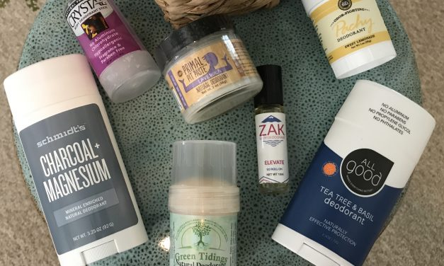 Best Natural Deodorant Brands, all Made in the USA