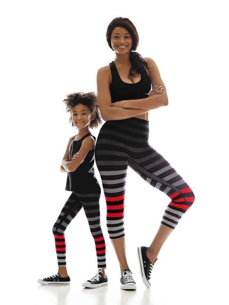American made leggings: K-Deer leggings for women, kids