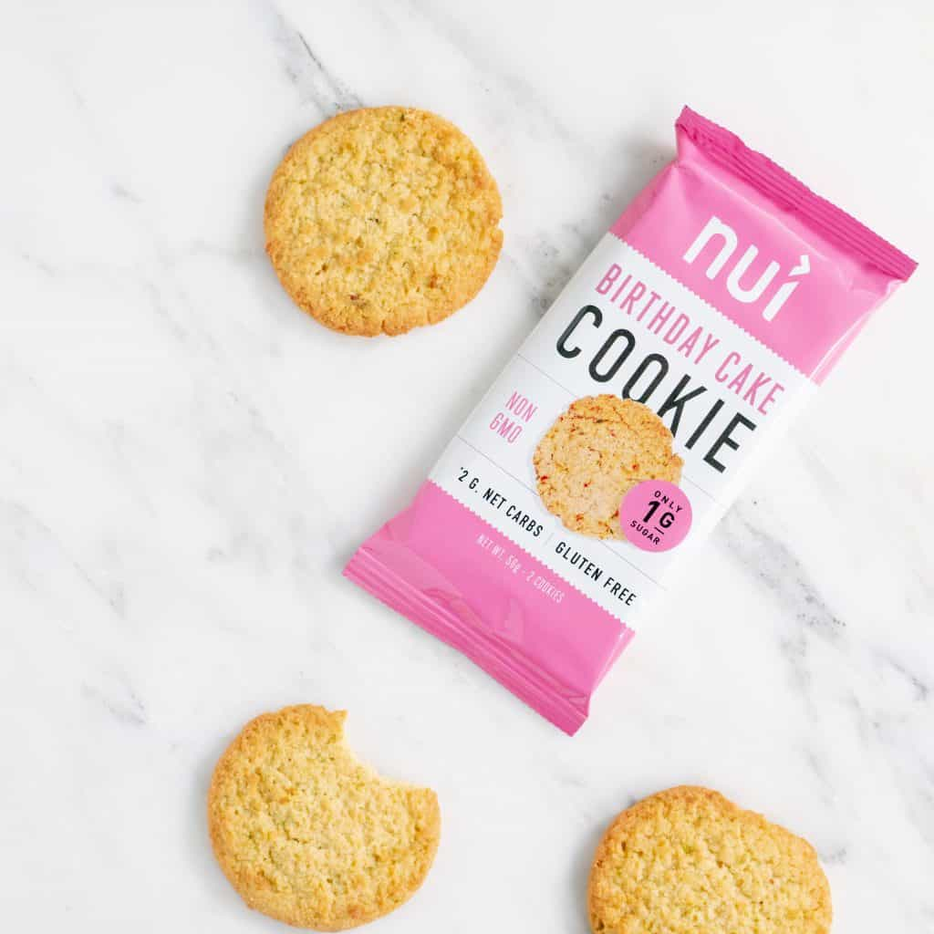 Keto, Gluten-Free Nui Birthday Cake Cookie - Made in USA